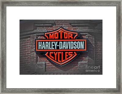 Every Bikers Love Framed Print by Arnie Goldstein