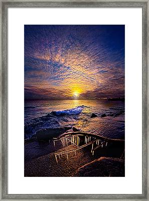 Every Day Is A Gift Not A Given Framed Print by Phil Koch