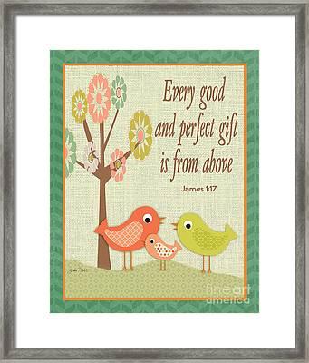 Every Good Gift Framed Print