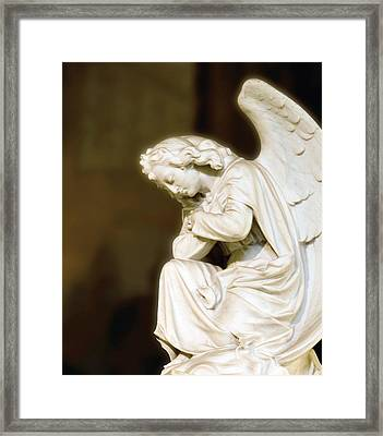 Every Knee Will Bow Framed Print