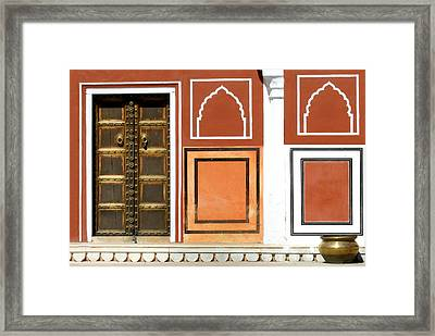 Every Wall Is A Door.. Framed Print by A Rey
