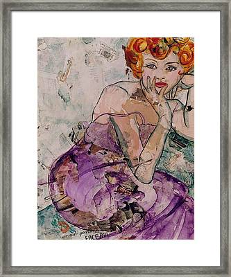 Every Woman Alive Loves Chanel #5 Framed Print