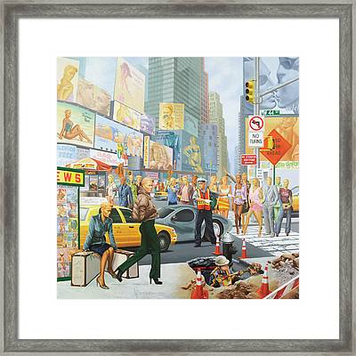 Everybodies Beautiful Framed Print by Victor Powell
