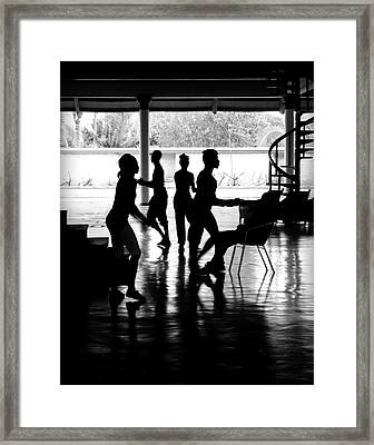 Everybody Dancing Framed Print