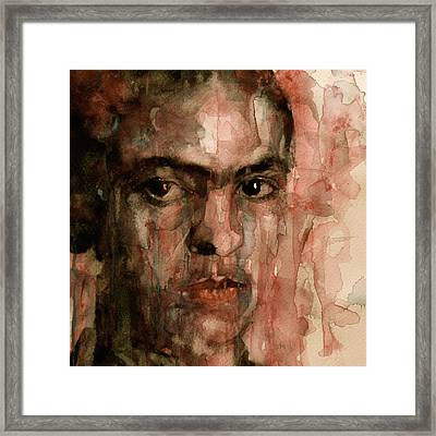 Everybody Hurts Framed Print by Paul Lovering