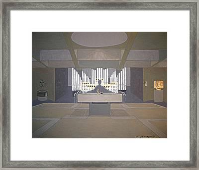 Everybody Leaves His Traces Behind... Framed Print by Ingrid Stiehler