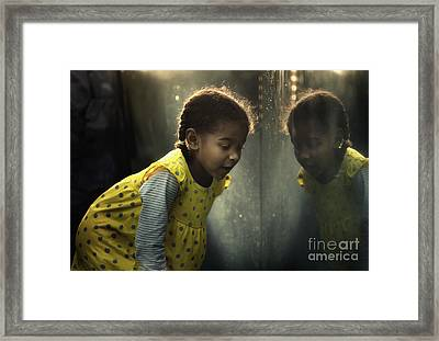 Everybody's Got To Learn Sometime Framed Print by Michel Verhoef