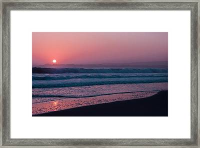 Pink Framed Print by Lora Lee Chapman
