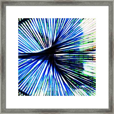 Everyday Abstract 4 Framed Print by Nancy E Stein