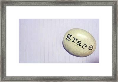 Everyday Grace Framed Print by Beth Burns