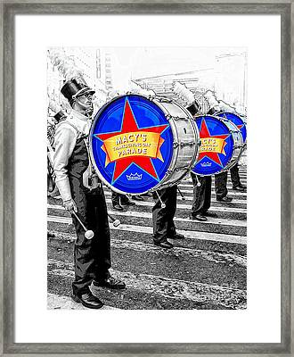 Everyone Loves A Parade Framed Print