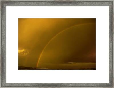 Everyone Needs A Rainbow Framed Print by Jeff Swan