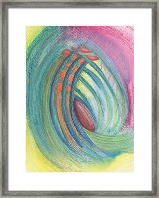 Everything And Nothing Framed Print