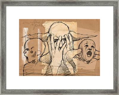 Everything Falls Apart Framed Print by H James Hoff