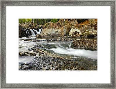 Everything Flows Framed Print