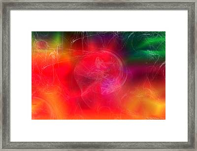 Everything Is Energy Framed Print