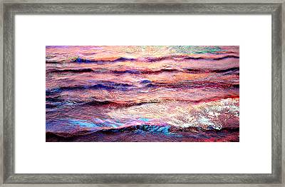 Everything Is Motion - Abstract Art Framed Print by Jaison Cianelli