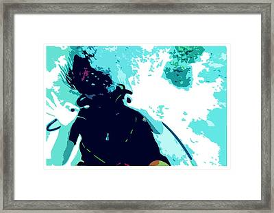 Naras Framed Print by Julio Lopez