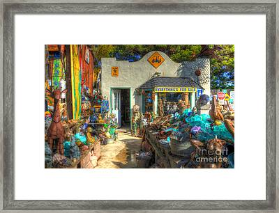 Everything's For Sale Framed Print