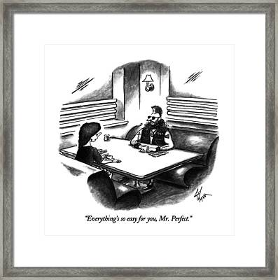 Everything's So Easy Framed Print by Frank Cotham
