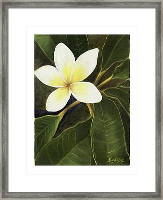 Everywhere In Hawaii Framed Print by Nancy Edwards