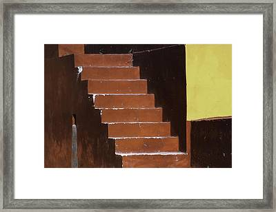 Everywhere Is Walking Distance If You Have The Time.. Framed Print by A Rey