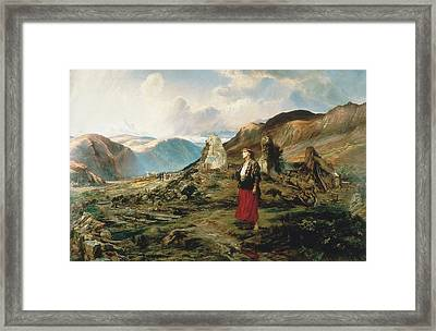 Evicted Framed Print
