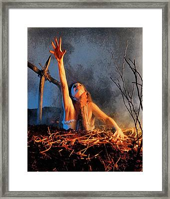 Evil Dead Framed Print by Joe Misrasi