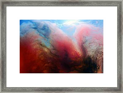 Evil Or A Devil Framed Print by Petros Yiannakas