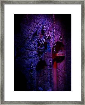 Evil Queen Dungeon Framed Print by Timothy Ramos