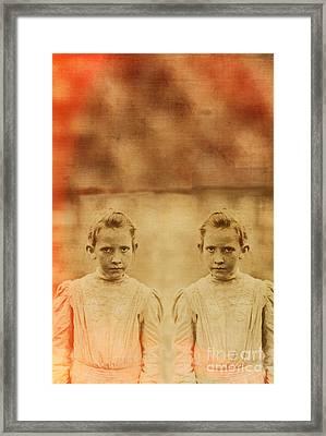 Evil Twins Framed Print