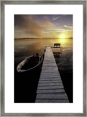 Evinrude And Lund Framed Print