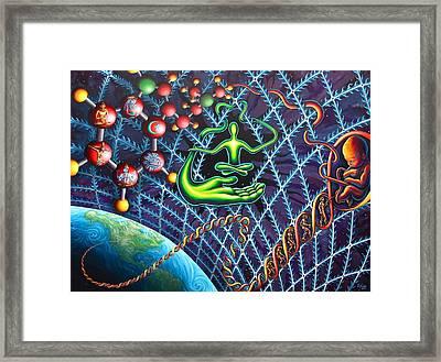 Evolution Of The Spirit Framed Print by Jim Figora