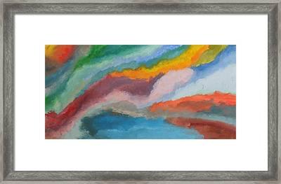 Evolving Framed Print