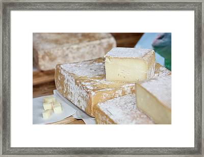 Ewes Milk Cheese Framed Print