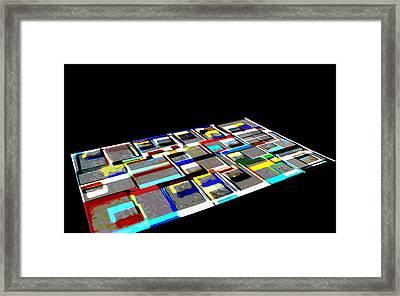 ex1 Framed Print by Mark Fearn
