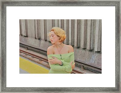 Exactly Framed Print by Nick David