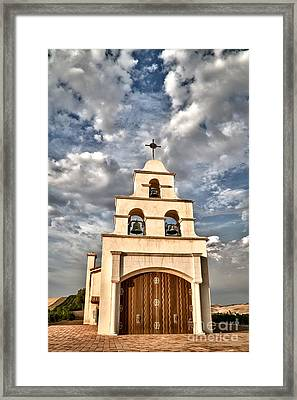 Exaltation Framed Print by Alice Cahill