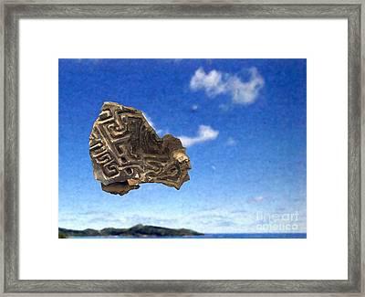 Excavation Framed Print by Ari Nunes