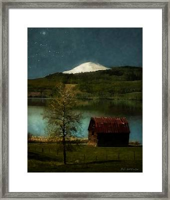 Excellence And Peace Framed Print by RC DeWinter