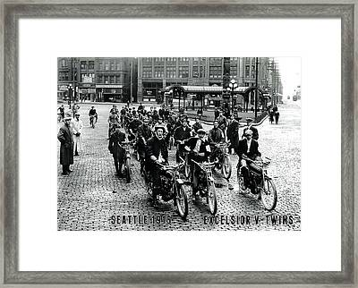 Framed Print featuring the photograph Excelsior by Tom DiFrancesca