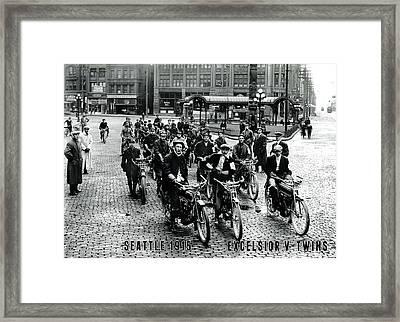 Excelsior Framed Print