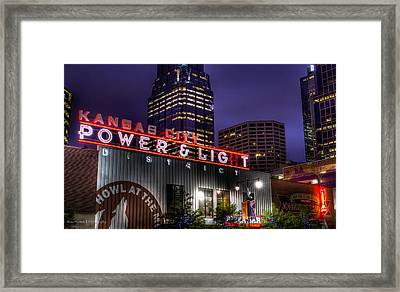 Except Where It Isn't Framed Print by Ross Henton