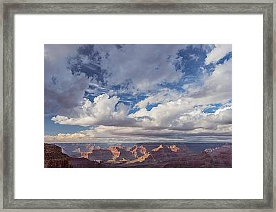 Exceptional Afternoon - Grand Canyon National Park Photograph Framed Print