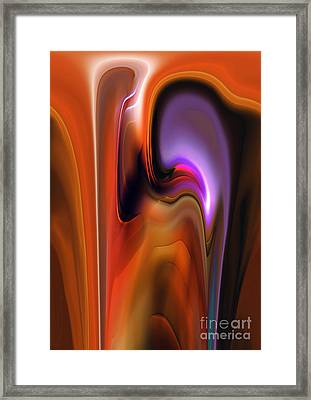 Exchange Framed Print by Christian Simonian