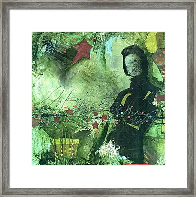 Excited One  Framed Print by Laura  Lein-Svencner
