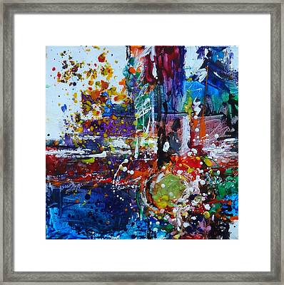 Excitement Framed Print by Kelley Smith