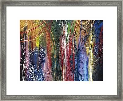 Excitment Framed Print
