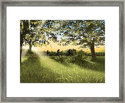 Excursion Framed Print