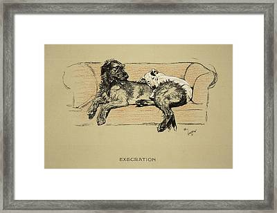 Execration, 1930, 1st Edition Framed Print by Cecil Charles Windsor Aldin
